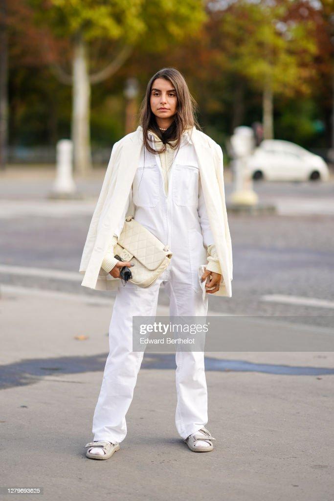 Street Style At Paris Fashion Week - Womenswear Spring Summer 2021 : Day Nine : News Photo