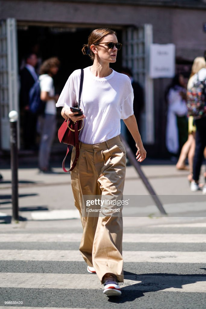 193c9256c58d Street Style   Day One - Haute Couture Fall Winter 2018 2019   News Photo