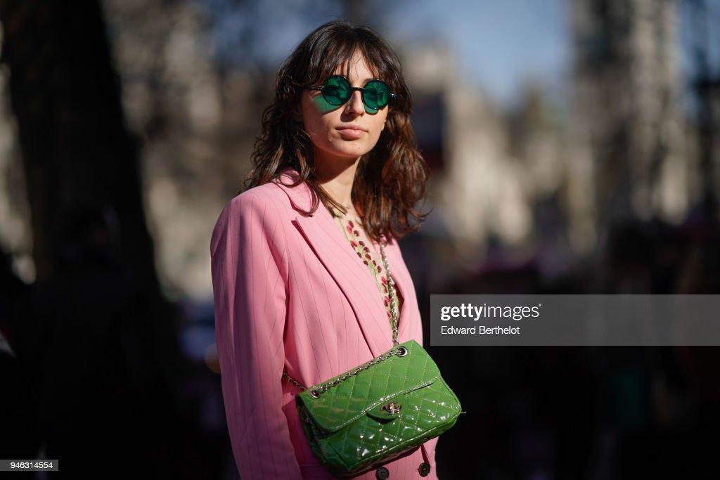 Street Style - LFW February 2018 : Photo d'actualité