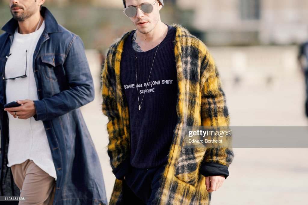 f93418a091e Street Style - Paris Fashion Week - Menswear F W 2019-2020   Day