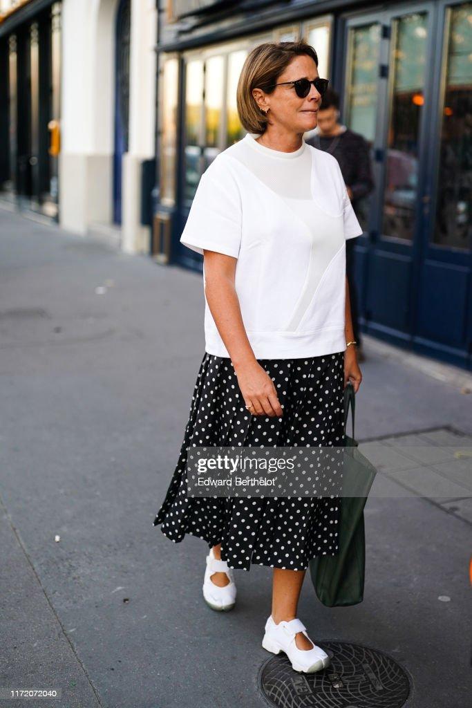 Street Style In Paris - September 2019 : News Photo