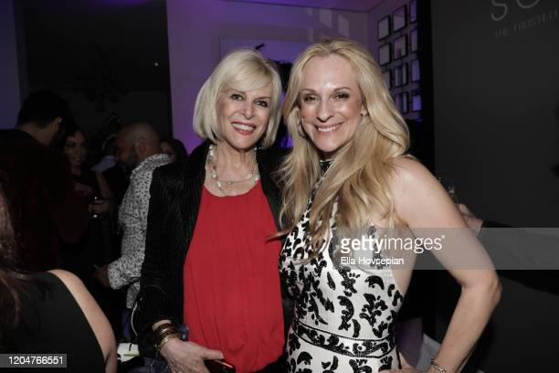 Guest with Consuelo Vanderbilt Costin attend at the LA Launch Event Of SohoMuse at Christopher Guy West Hollywood Showroom on February 07 2020 in...