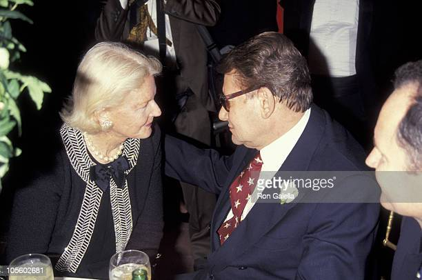 CZ Guest Yves Saint Laurent during Launch Party for Yves Saint Laurent Fragrance 'Champagne' September 12 1994 at Statue of Liberty in New York City...
