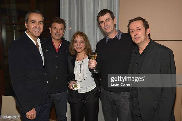 GuestPaul Oakenfold Guest Founder/CoCEO of AAM Mark Beaven and Worldwide Music Director for Ubisoft Entertainment France Didier Lord attend the...
