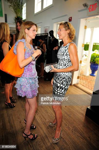Guests and attend DOLCE GABBANA Presentation and Luncheon at Nello Summertimes HotelRestaurant on August 20 2010 in Southampton NY