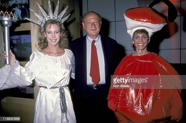 guests and Ed Koch during Ed Koch Campaign Fundraiser at Private Eyes Club in New York City New York United States