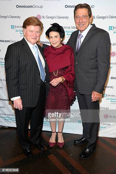 Guests and Joe Namath attend An Evening Honoring Joe Namath at The Plaza Hotel on October 20 2016 in New York City