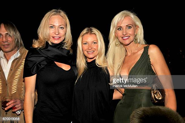 Guests and Katrina Peebles attend HRH Prince Dimitri of Yugoslavia Jewelry Collection Presentation at Casa Casuarina on December 3 2008 in Miami...
