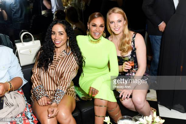 Guests and Sheree Zampino attend Ira and Bill DeWitt's Saint candle launch benefiting St. Jude Children's Research Hospital at MR CHOW on June 12,...