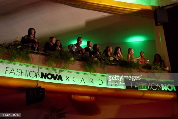 Guests are seen as Fashion Nova Presents Party With Cardi at Hollywood Palladium on May 8 2019 in Los Angeles California