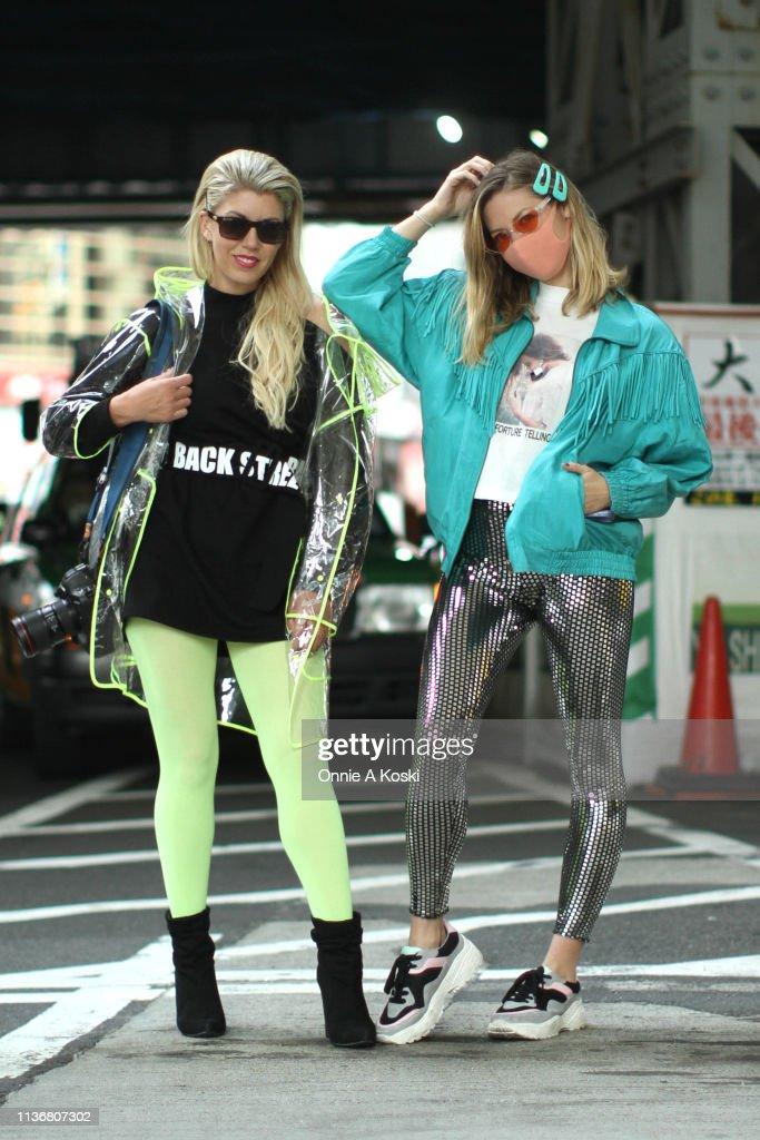 JPN: Street Style - Amazon Fashion Week TOKYO 2019 A/W - Day 2