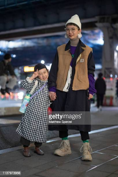 Guests are seen during the Amazon Fashion Week TOKYO 2019 A/W on March 23 2019 in Tokyo Japan