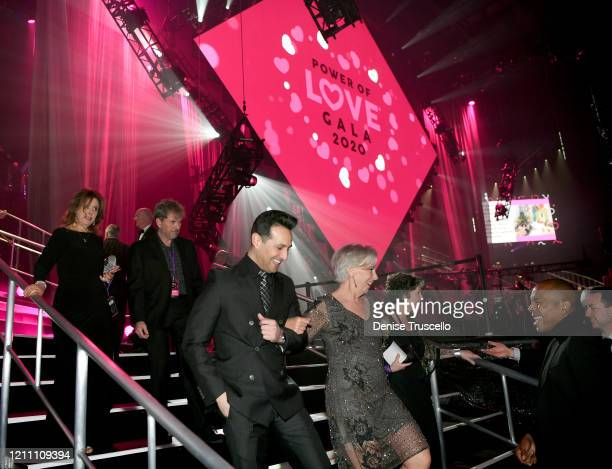 Guests arrive at the 24th annual Keep Memory Alive 'Power of Love Gala' benefit for the Cleveland Clinic Lou Ruvo Center for Brain Health at MGM...
