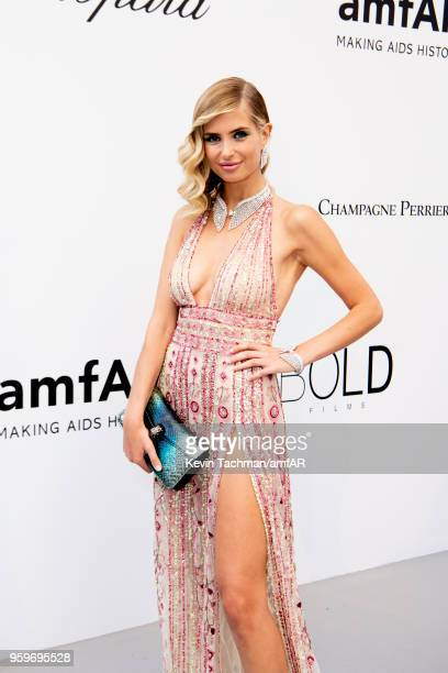 Guests arrive at the amfAR Gala Cannes 2018 at Hotel du CapEdenRoc on May 17 2018 in Cap d'Antibes France