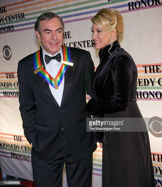 Guests arrive at the Kennedy Center for tonights honors awards with President Obama in attendance on December 2011 in Washington DC Pictured honoree...