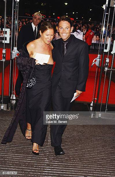 Guests arrive at the UK Charity Premiere of Finding Neverland at the Odeon Leicester Square on October 17 2004 in London The film is the follow up to...