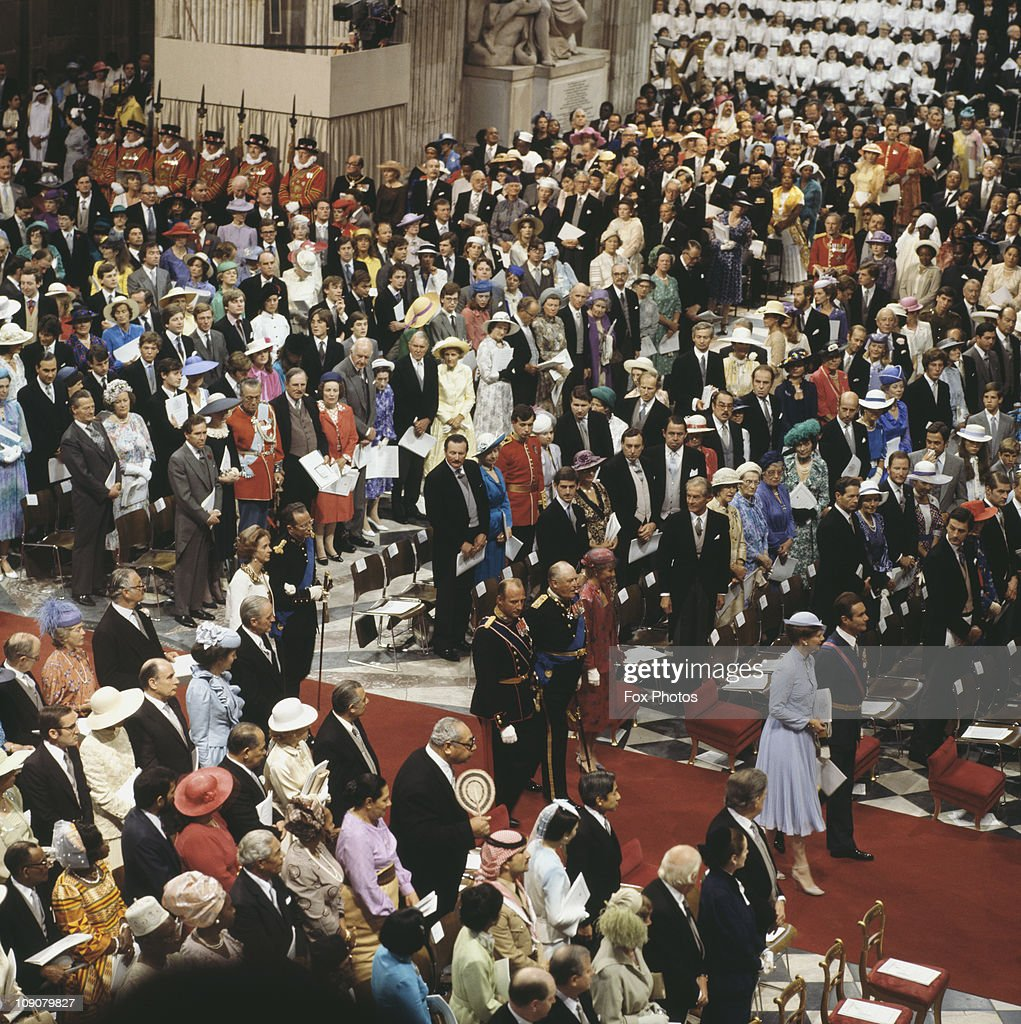Wedding Of Charles And Diana : News Photo