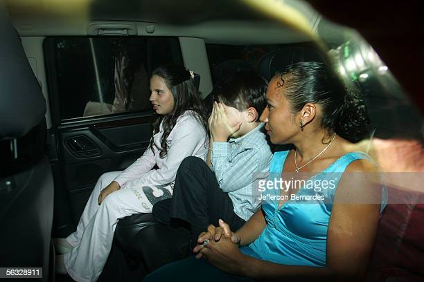 Guests Arrive For The Wedding Of Greek Heiress Athina Onassis Roussel To Brazilian Equestrian Alvaro Affonso