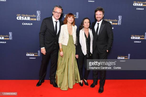 guests arrives at the Cesar Film Awards 2020 Ceremony At Salle Pleyel In Paris on February 28 2020 in Paris France