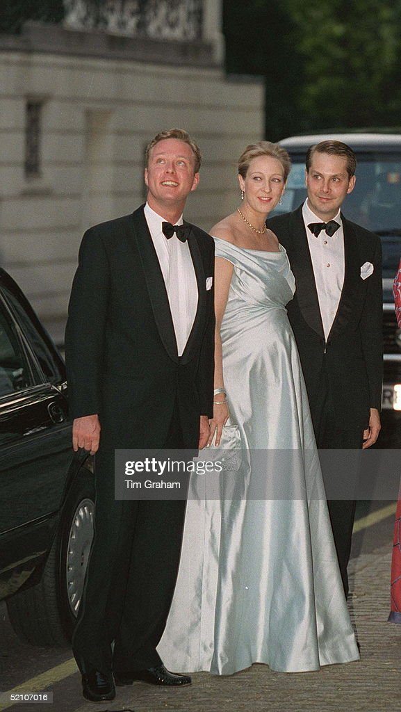 Guests At Party For Princess Alexia : News Photo