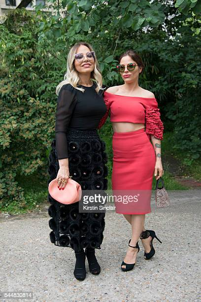 Guests at day 1 of Paris Haute Couture Fashion Week Autumn/Winter 2016 on July 3 2016 in Paris France