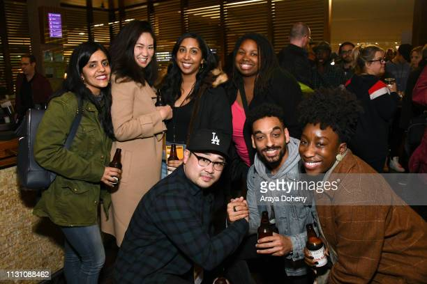 Guests at Film Independent Directors Close Up The Independent Spirit A Directors Roundtable at The Landmark on February 20 2019 in Los Angeles...