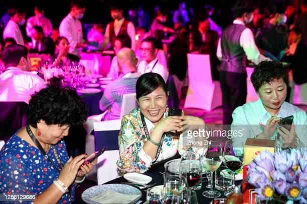 Guests at GALA Dinner during Day 1 of CNBC East Tech West at LN Garden Hotel Nansha Guangzhou on November 17, 2020 in Nansha, Guangzhou, China. East...