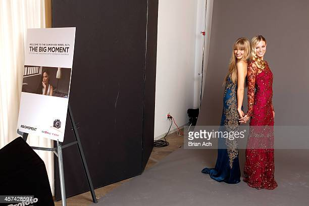 Guests at Georgina Chapman's Marchesa studio for Canon's THE BIG MOMENT with the world's smallest and lightest DSLR on December 17 2013 in New York...