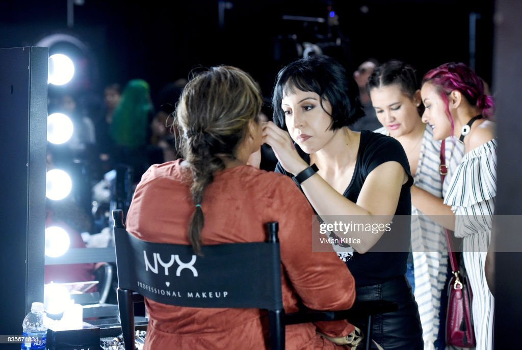 Guests at the 2017 NYX Professional Makeup FACE Awards Expo at The Shrine Auditorium on August 19, 2017 in Los Angeles, California.