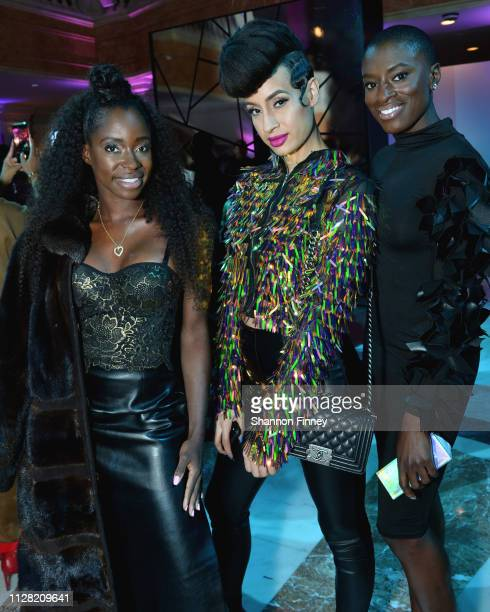 Guests at the District of Fashion Fall/Winter 2019 Runway Show on February 07 2019 at the National Museum of Women in the Arts in Washington DC