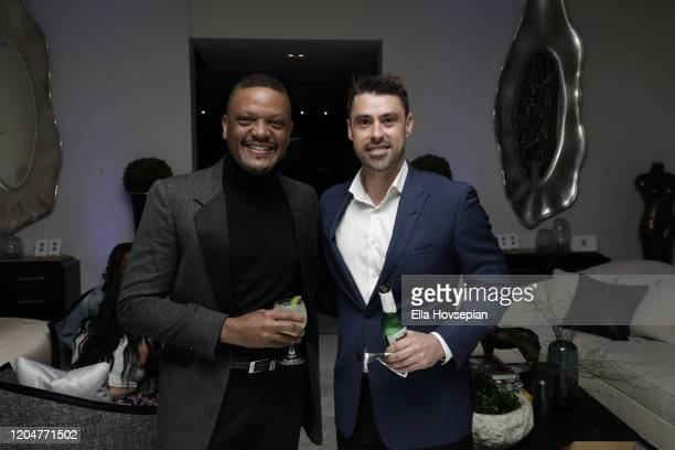 Guests at the LA Launch Event Of SohoMuse at Christopher Guy West Hollywood Showroom on February 07 2020 in West Hollywood California