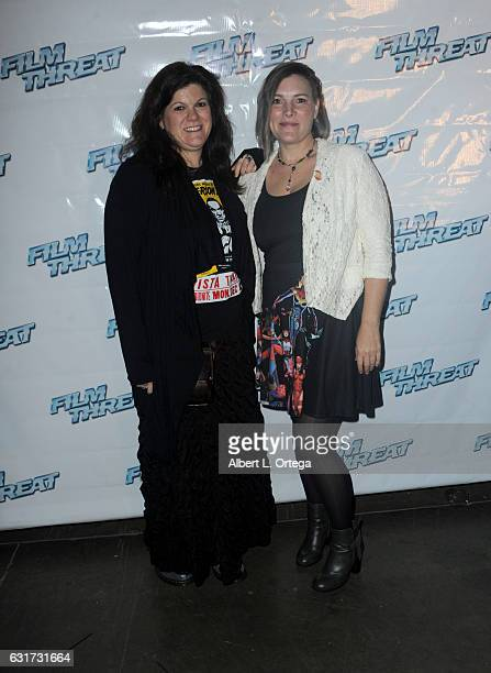Guests at the Launch Party For 'Film Threat' Online held at The Berrics on January 14 2017 in Los Angeles California