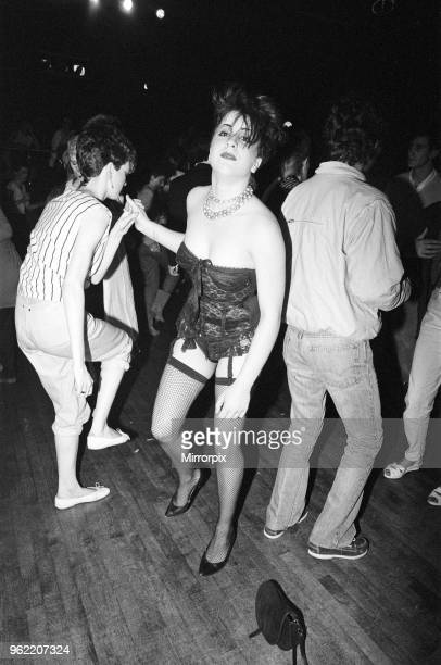 Guests at the Music Machine in London's Camden Town, 26th June 1982.