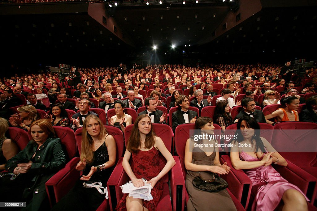 Guests at the Opening Ceremony of the 59th Cannes Film Festival.
