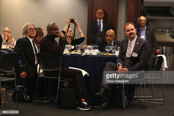 Guests at The Recording Academy®'s annual GRAMMYs on the Hill® Advocacy Day which brought more than 100 music creators from across the country to...
