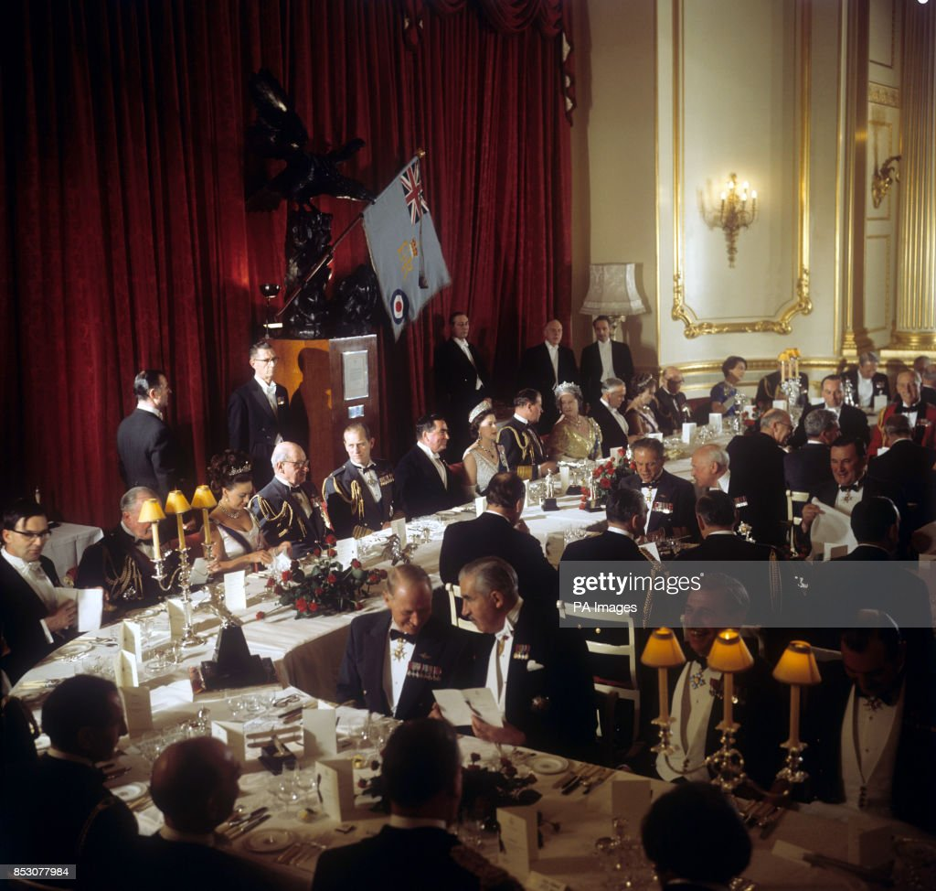 Royalty - Royal Air Force Golden Jubilee Banquet - Lancaster House, St James's, London : News Photo