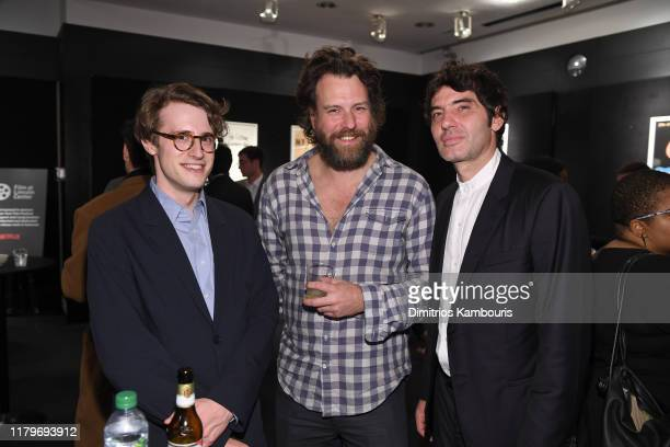 Guests attend 57th New York Film Festival The Shorts Reception at Furman Gallery on October 07 2019 in New York City