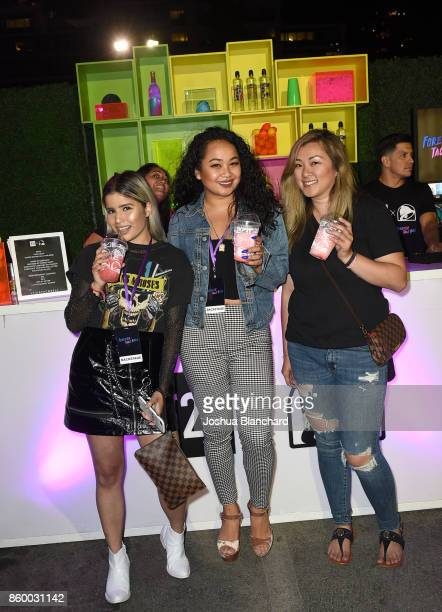 00cbacb4fa584b Guests attend a celebration of the Forever 21 x Taco Bell Collection and the  fans who