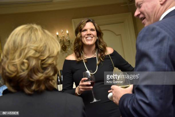 Guests attend a Dinner with Paul Kahan and Marc Vetri part of the Bank of America Dinner Series presented by The Wall Street Journal at 21 Club on...