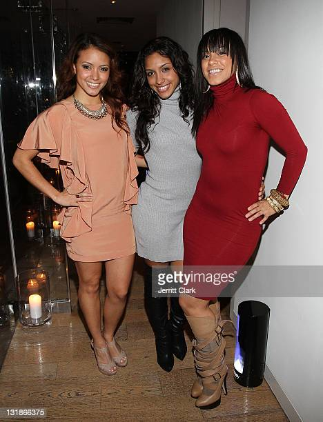 Guests attend a Hennessey Black party to celebrate DJ DNice signing to Roc Nation DJ's at The Cooper Square Hotel on November 16 2010 in New York City