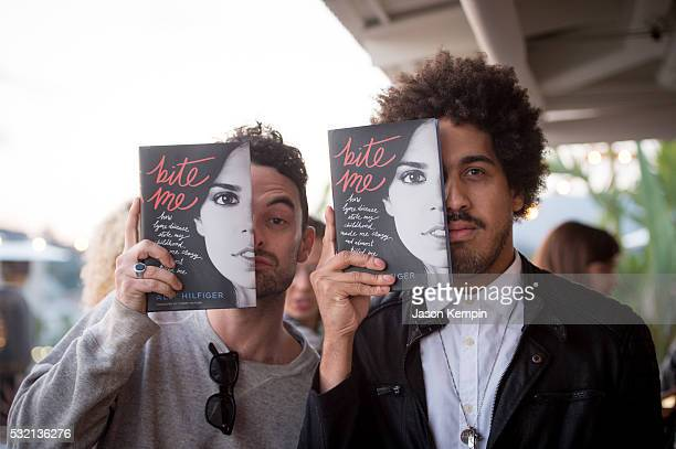 Guests attend a party for Ally Hilfiger's new book Bite Me At Mama Shelter Hollywood on May 17 2016 in Los Angeles California