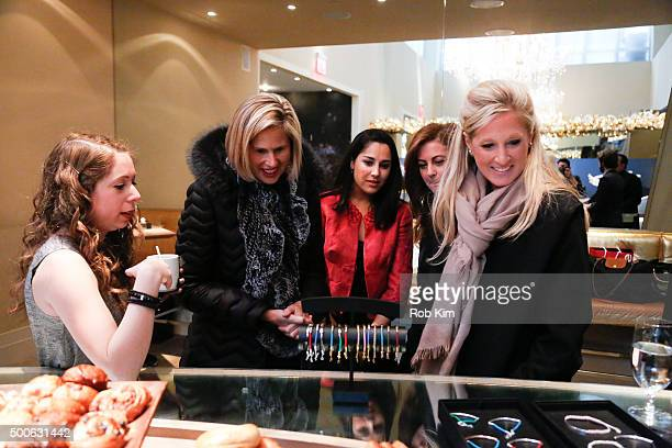 Guests attend a press preview at Thomas Sabo US Launch at Nomo Soho Hotel on December 9 2015 in New York City