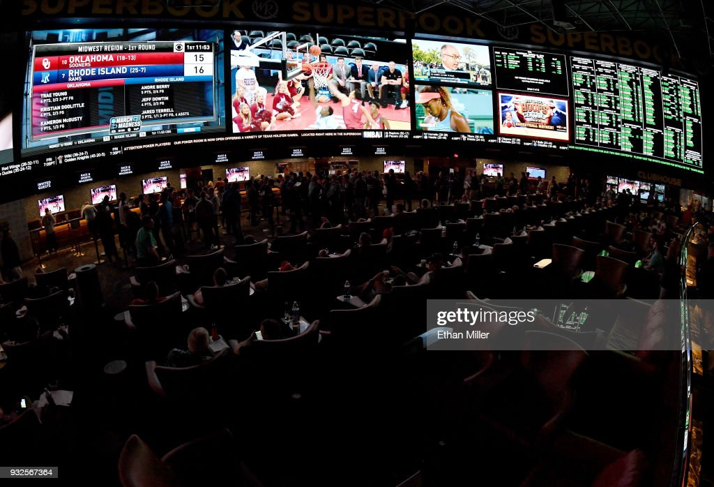 March Madness Viewing Party At The Westgate Las Vegas : News Photo