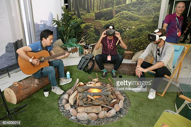 Guests attend Airbnb Open LA Day 1 on November 17 2016 in Los Angeles California
