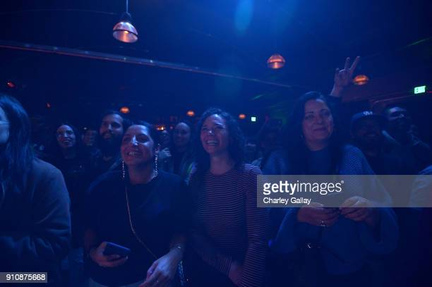Guests attend ALAC MUSIC SERIES @ ZEBULON Freestyle Fellowship at Zebulon on January 26 2018 in Los Angeles California