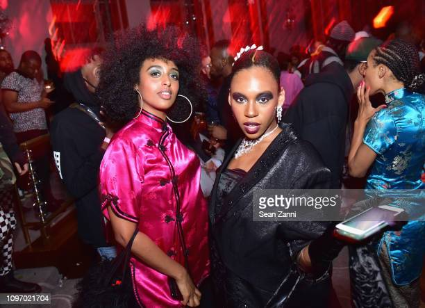 Guests attend Alex Wang's Big Trouble In Little China At The Rainbow Room Powered by Cash App on February 9 2019 at The Rainbow Room in New York City