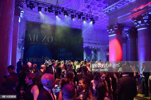 Guests attend an after party for the 13th Annual UNICEF Snowflake Ball 2017 at Cipriani Wall Street on November 28 2017 in New York City