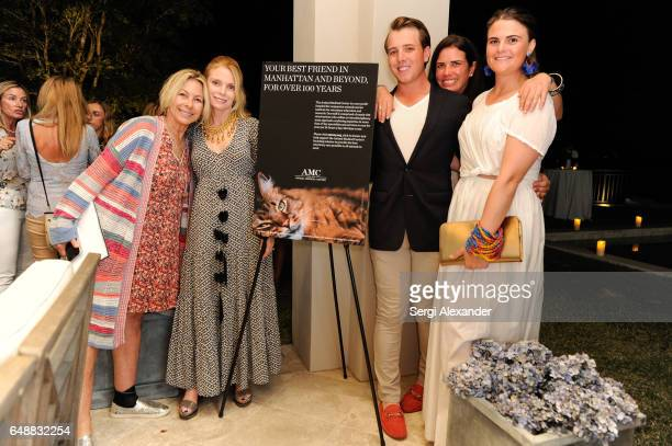 Guests attend An Evening to Celebrate the Work of the Animal Medical Center at the Wellington Florida home of Elizabeth Monaco and Neil M McCarthy on...