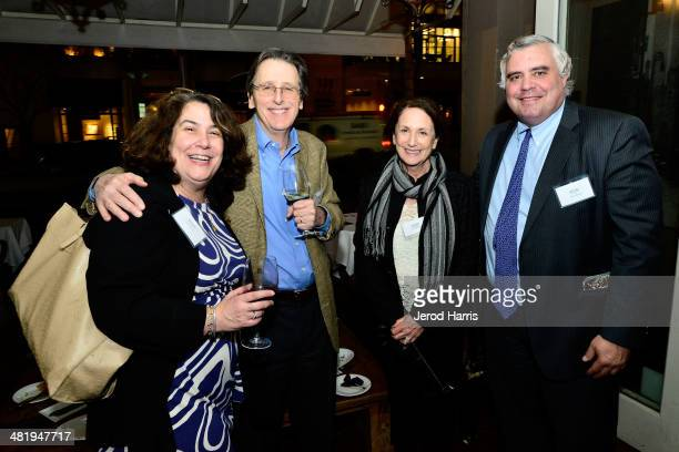 Guests attend an evening with Azzedine Downes President and CEO of the International Fund for Animal Welfare at Porta Via Restaurant on April 1 2014...