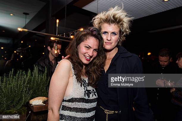 Guests attend 'Art Los Angeles Contemporary host committee members and collectors Joel Lubin and wife Marija Karan host ALAC 2017 exhibitors...